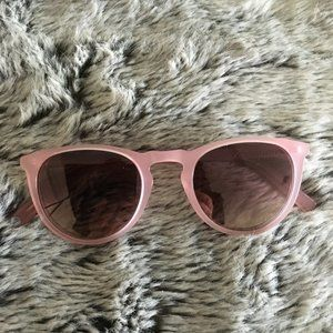 Warby Parker Haskell Pink Sunglasses